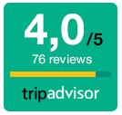Tripadvisor review score